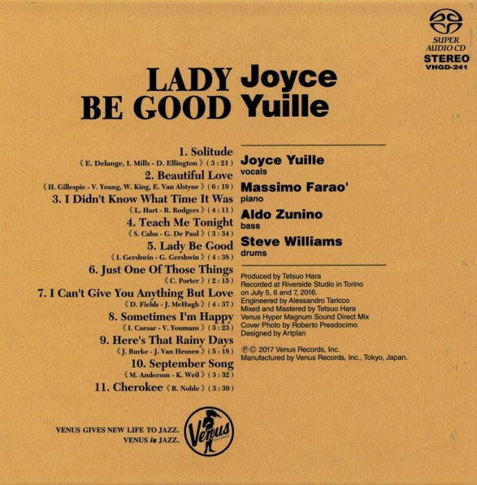 【Venus<wbr>Records】<wbr>–<wbr>Joyce<wbr>Yuille:<wbr>Lady<wbr>Be<wbr>Good