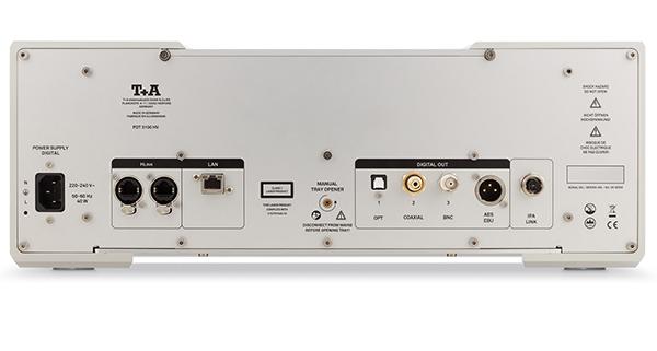 自家设计的雷射机构 T+A PDT 3100 HV CD/SACD转盘