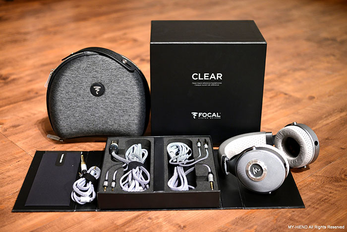 通透纯净的质感: Focal Clear耳罩式耳机